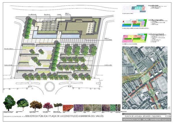 Arquitectura y biblioteca juntos desde el inicio for Como hacer un cuadro de areas arquitectura