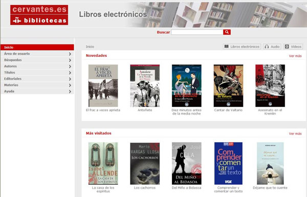 Biblioteca digital de l'Instituto Cervantes