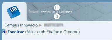 Aviso a los usuarios recomendando la utilización de Firefox o Chrome para un buen funcionamiento de la herramienta