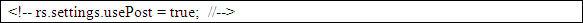 Configuración de Readspeaker para que se envíe el código HTML en cada petición al servidor Readspeaker