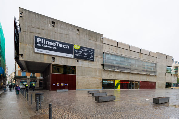 Figura 1. Seu de la Filmoteca de Catalunya a Barcelona