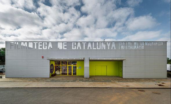 Figura 2. Seu del 2CR de la Filmoteca de Catalunya al Parc Audiovisual de Catalunya (Terrassa)