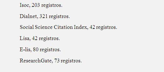 Registros obtenidos