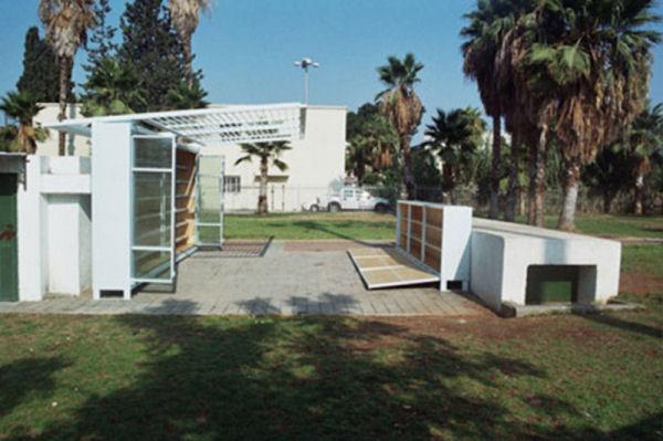 Figura 7. Levinski Garden Library. Autor: Yoav Meiri Architects. Font: Yoav Meiri Architects