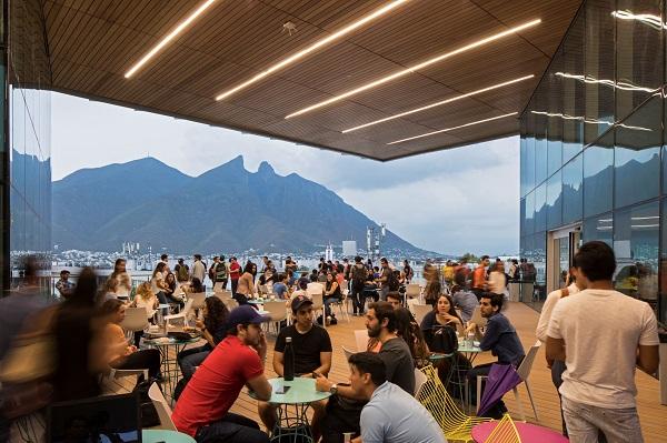 Fotografía 6. Nivel 5, terraza. Fuente: Tecnológico de Monterrey