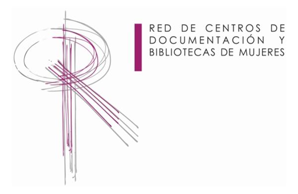 Figura 4. Logo de la Red de Centros de Documentación y Bibliotecas de Mujeres. Fuente: RCDBM