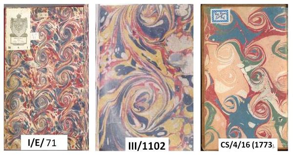 Figura 3. Guardes de paper d'espirals Font: Real Biblioteca