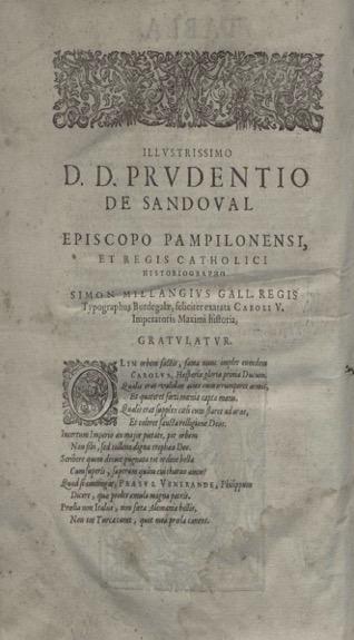 Figura 7. Colofó. Historia de la vida y hechos del Emperador Carlos v (1634). Font: Biblioteca Nacional de España: 2/64121 V.1