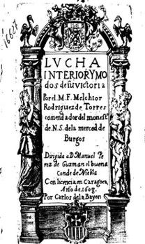Figura 9. Portada. Lucha interior (1608). Font: Biblioteca de la Universidad Complutense de Madrid, FLL 16627